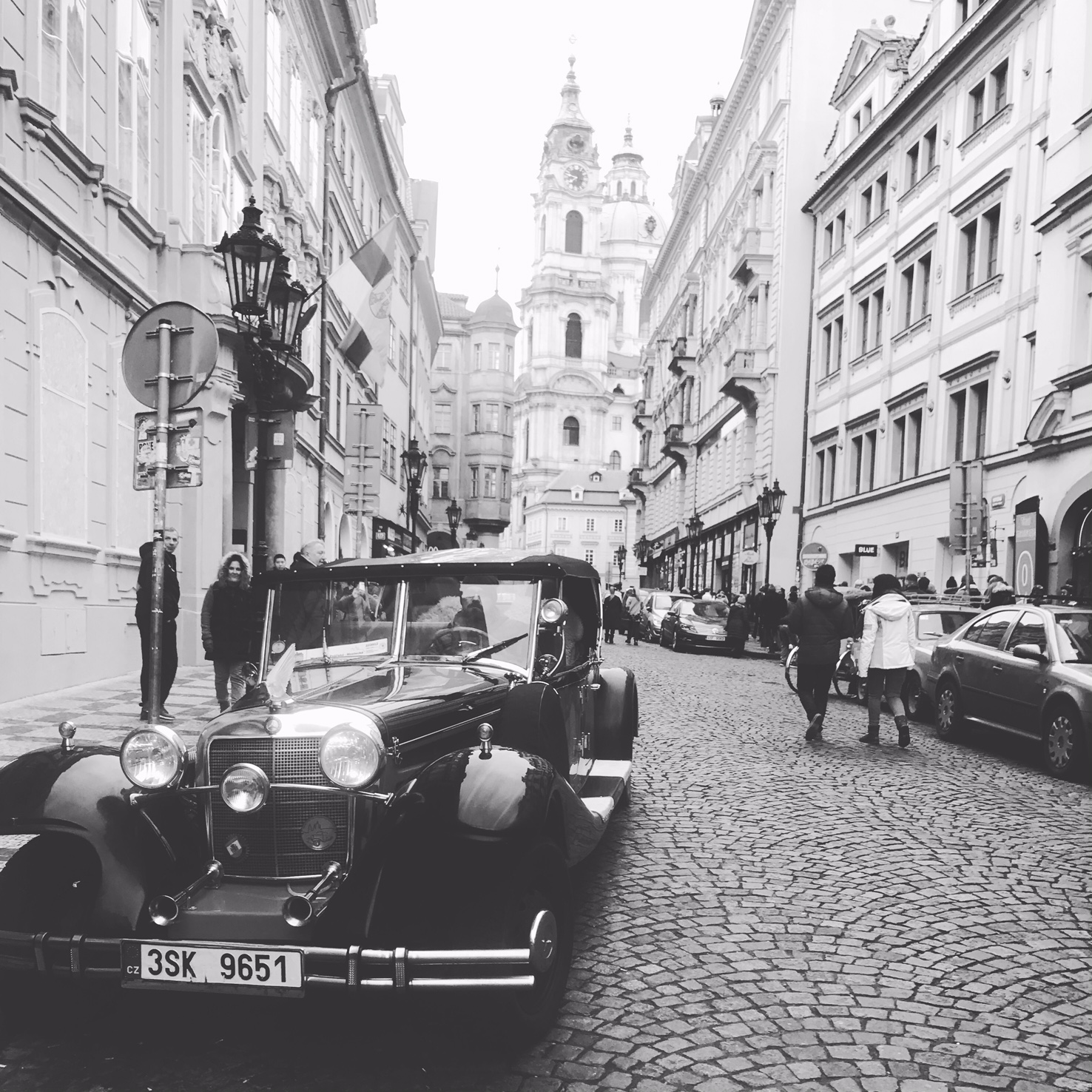 A Postcard from Prague…